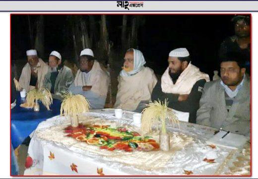 উত্তর শাহবাজপুরের কুমারশাইলে ধানের শীষের সমর্থনে উঠান বৈঠক
