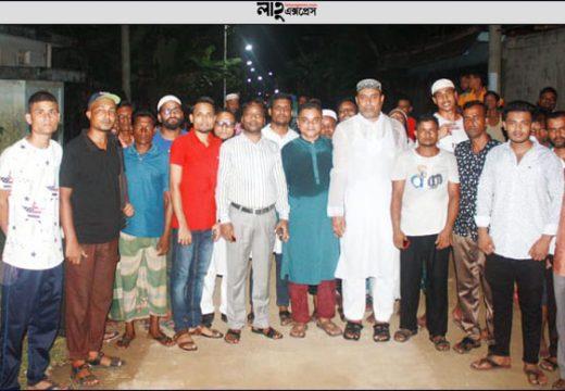 গোলাপগঞ্জে ২৩ লাখ টাকা ব্যয়ে স্থাপিত সড়ক বাতির উদ্বোধন নিজস্ব প্রতিবেদক, গোলাপগঞ্জ: