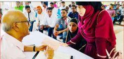 গোলাপগঞ্জে সাবেক মন্ত্রী নুরুল ইসলাম নাহিদের 'গণসাক্ষাৎ'