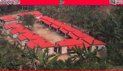 মৌলভীবাজারে মাথা গোঁজার ঠাঁই হচ্ছে ১১২৬ পরিবারের