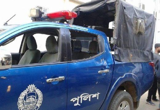 হবিগঞ্জের বিভিন্ন স্থানে সংঘর্ষে পুলিশসহ আহত ৫০
