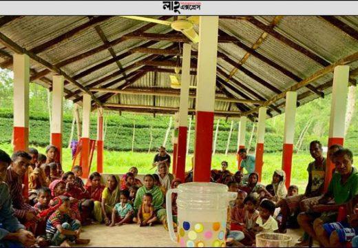 বড়লেখায় আয়েশাবাগ চা-বাগানের শ্রমিকদের কর্মবিরতি স্থগিত নিজস্ব প্রতিবেদক