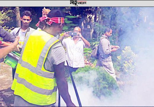 মৌলভীবাজারে ২৬ জন ডেঙ্গু রোগী সনাক্ত, মশক নিধন অভিযান শুরু জ্যেষ্ঠ প্রতিবেদক