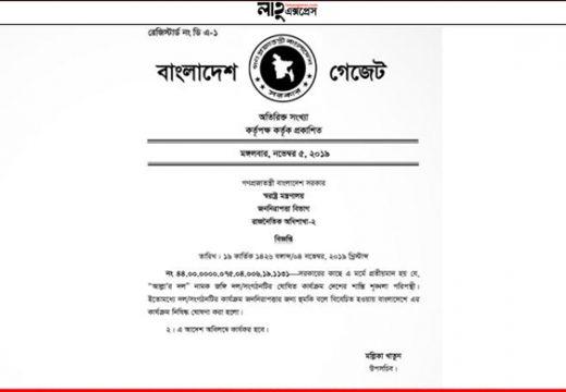 জঙ্গি সংগঠন 'আল্লার দল' নিষিদ্ধ খবর: বাংলা ট্রিবিউন
