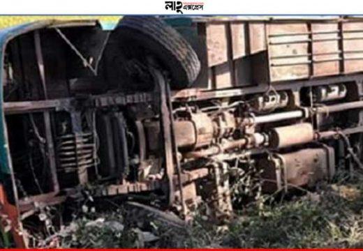 জগন্নাথপুরে বাস উল্টে আহত ১০ নিউজ ডেস্ক