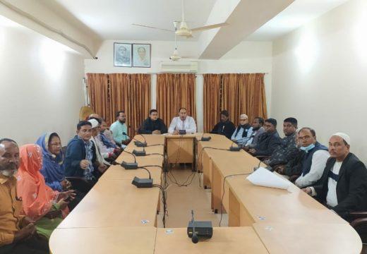 গোলাপগঞ্জ পৌর আওয়ামীলীগের মতবিনিময় সভা অনুষ্ঠিত নিজস্ব প্রতিবেদক, গোলাপগঞ্জ: