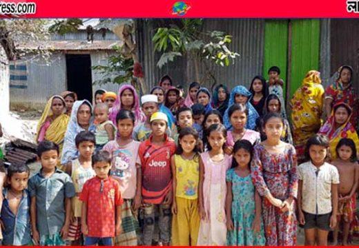 শাল্লার নোয়াগাঁও কাণ্ড: পুরুষশূন্য গ্রামে নারী-শিশুর হাহাকার