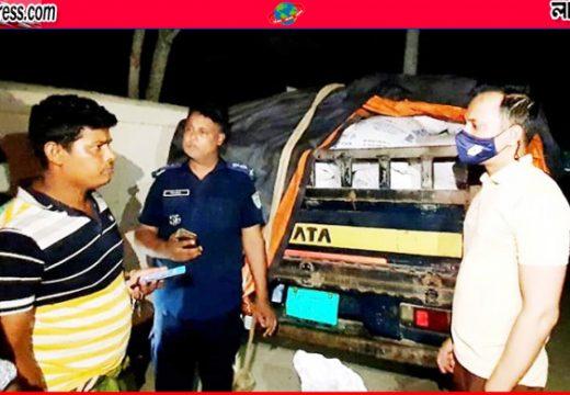 আজমিরীগঞ্জে ৩১০০ কেজি সরকারি চাল জব্দ, একজনের কারাদণ্ড