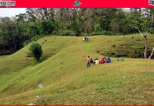 পর্যটকদের মন কেড়েছে জুড়ীর 'কাশ্মিরি টিলা'