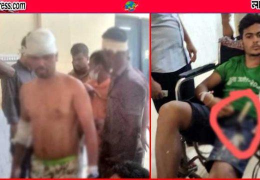 জামাই-শ্বশুরের টেঁটাযুদ্ধে নারীসহ আহত ৩৫